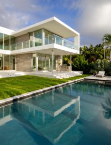 Golden Beach House High-end builder contractor construction miami pool backyard deck jacuzzi