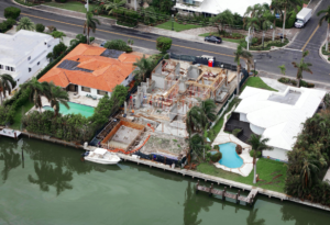 house waterfront miami florida construction modern luxury pool landscape architect builder shell