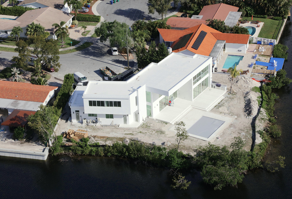 miami florida house builder high-end modern new construction contractor pool