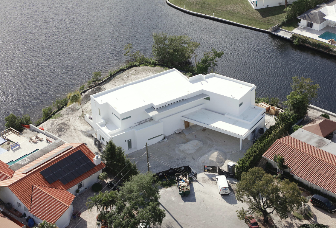 miami florida house builder high-end modern new construction contractor