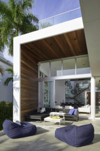 Golden Beach Florida Miami Residence living dining decoration interior design wood outdoor living
