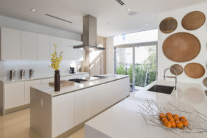 Golden Beach house modern luxury high-end miami contractor builder woof floor kitchen appliances table dining