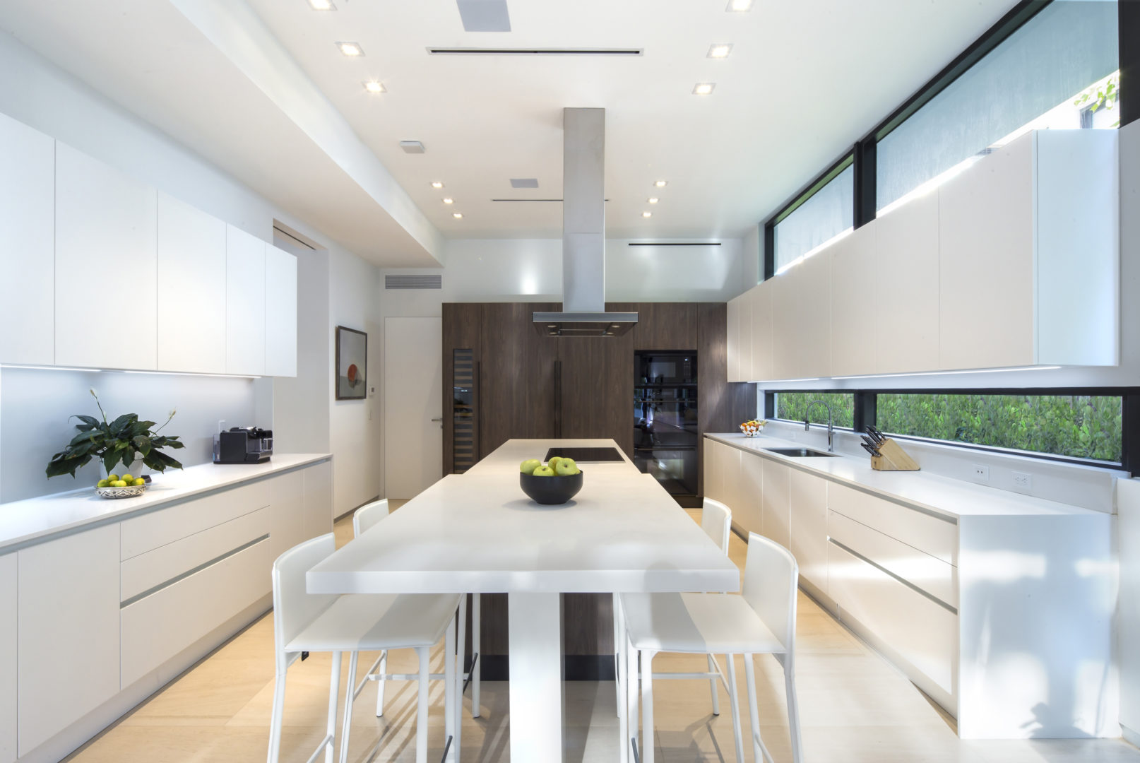 Golden Beach Residence High-end Builder Contractor Miami Modern Luxury Design Interior Kitchen Appliances marble modern