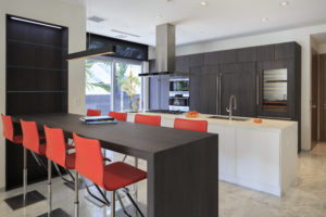 House construction miami florida custom builder contractor luxury modern residential kitchen appliances