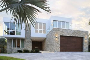 House construction miami florida custom builder contractor luxury modern residential paver driveway