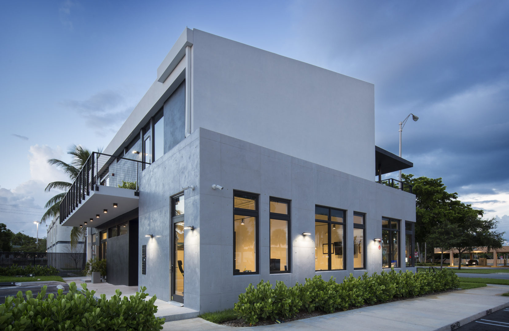 Office Building Commercial Treo SDH North Miami Beach Florida Construction modern