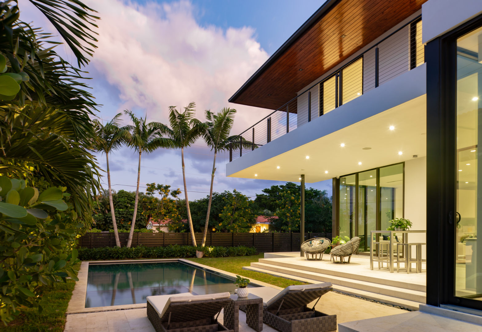 pool modern luxury miami builder